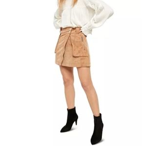 ✨HOST PICK✨🎀FREE PEOPLE UTILITY SKIRT TAN🎀